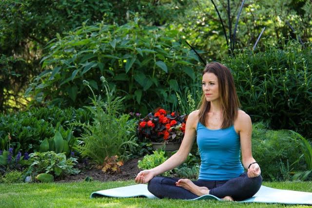 Please welcome Cara Tegler, prenatal and postnatal yoga teacher
