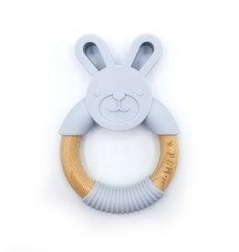 Pois et Moi Pois et Moi Rabbit teether