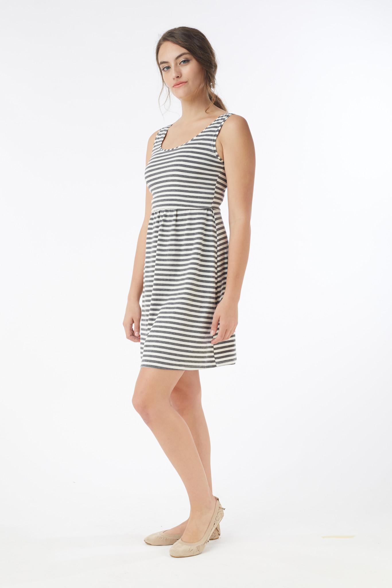 MEV U-neck maternity nursing tank dress