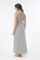 MEV U-neck maxi maternity nursing tank dress