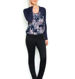 MEV Comfy sateen slim fit pants