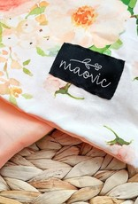 Maovic Toddler pillow cover Peachy Flowers