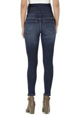 Maternity Jeans Distressed Dark Demin