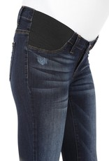 Maternity Jeans Distressed Dark Demin