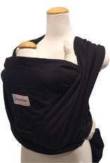 Maman Kangourou Woven Wrap - Black