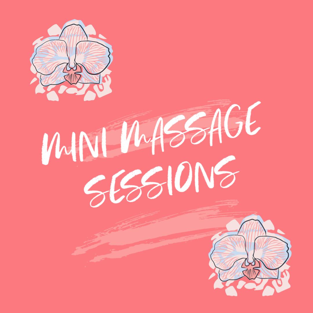 Free Mini Massage sessions