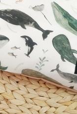 Maovic Buckwheat toddler pillow Whales