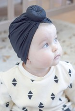 Mini Bretzel Mini Bretzel Baby turban hat cotton