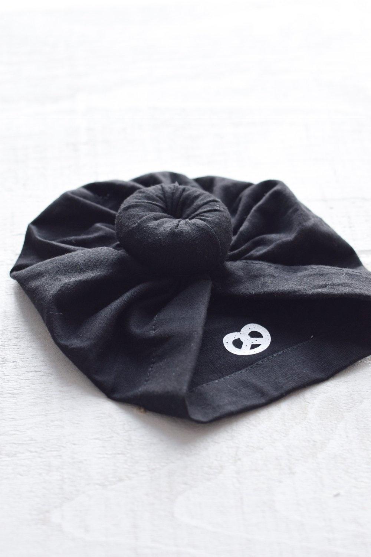 Mini Bretzel Mini Bretzel Baby turban hat cotton