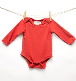 Isa & Bella Organic long sleeve onesie