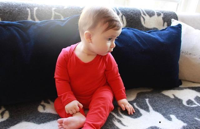 Isa & Bella Organic long sleeve onesie
