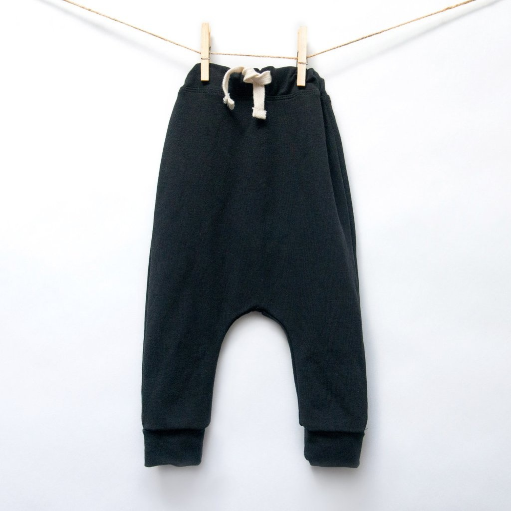 Isa Isa & Bella organic drawstring baby harem pants