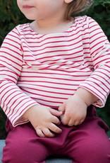 Isa Isa & Bella organic baby sailor stripe top