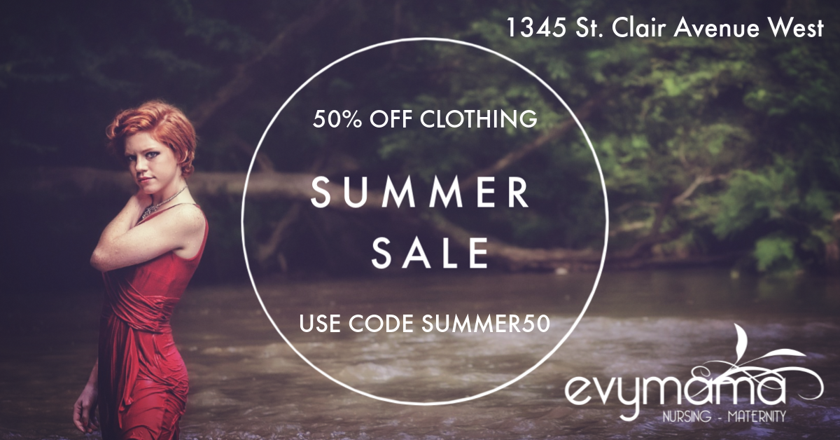 50% off Summer Clothing