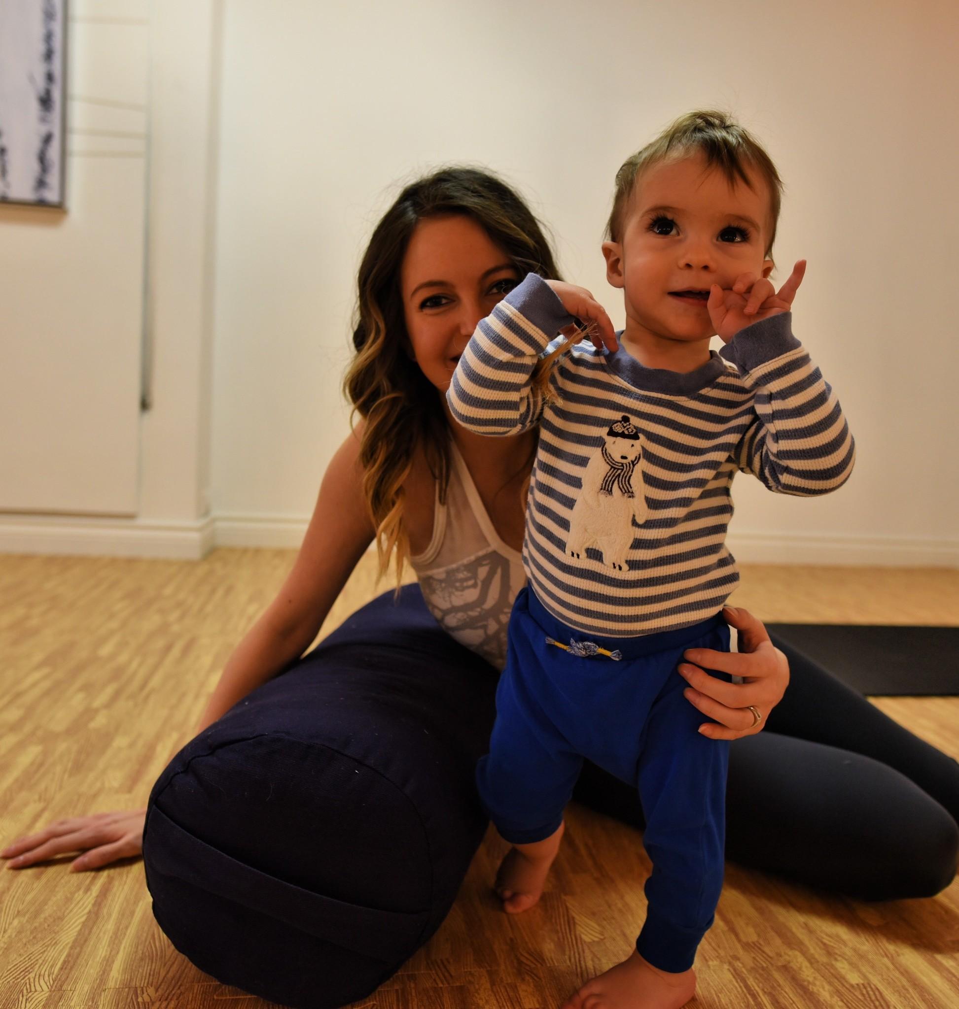 Crawlers & Tots yoga
