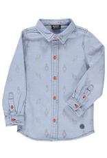 Birdz Birdz Danger denim shirt child