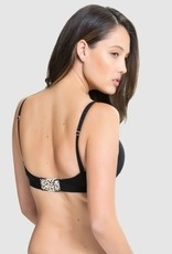 Charley M Buddy t-shirt bra Black