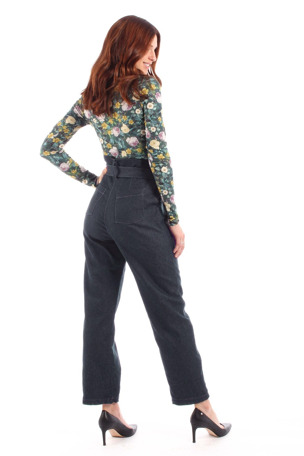 LDP LDP base pants denim adjustable