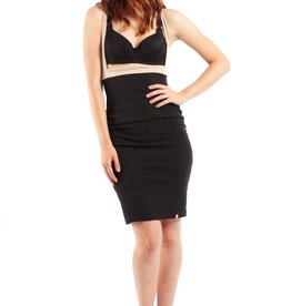 Lait De Poule LDP pencil skirt base dress black