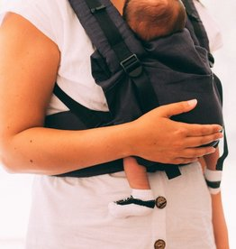 Gustine Gustine linen baby carrier dark grey