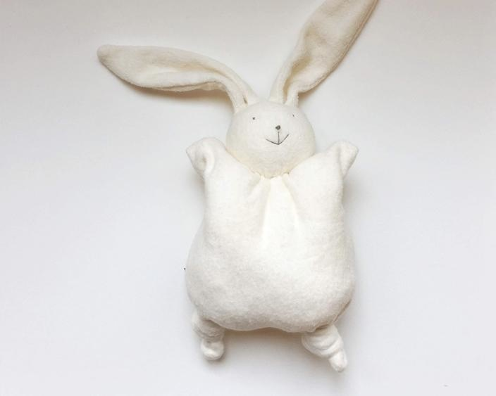 Papoum rabbit soft baby toy