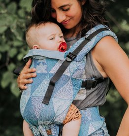 Gustine Gustine cotton baby carrier Mandala blue