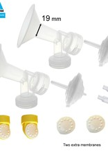 Maymom Medela compatible Freestyle kit