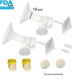 Maymom Medela compatible Freestyle kit