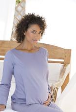 Sofia nursing maternity pyjama lilac 2-piece