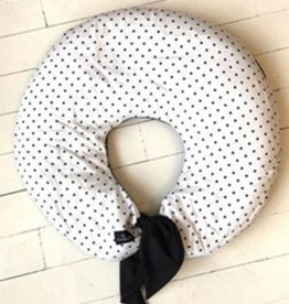 Maovic Buckwheat nursing pillow Black Dots