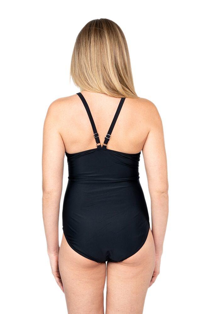 Oceanlily maternity swimsuit black
