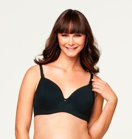 Dark Croissant Flexiwire bra E cup to K cup