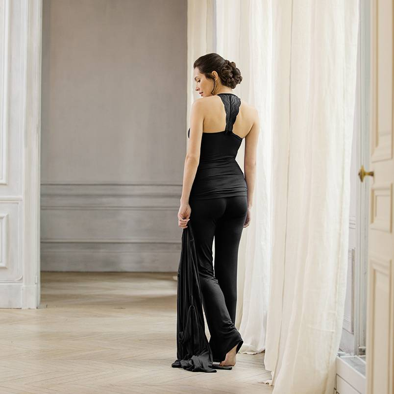 Cache Coeur Serenity Robe in Black