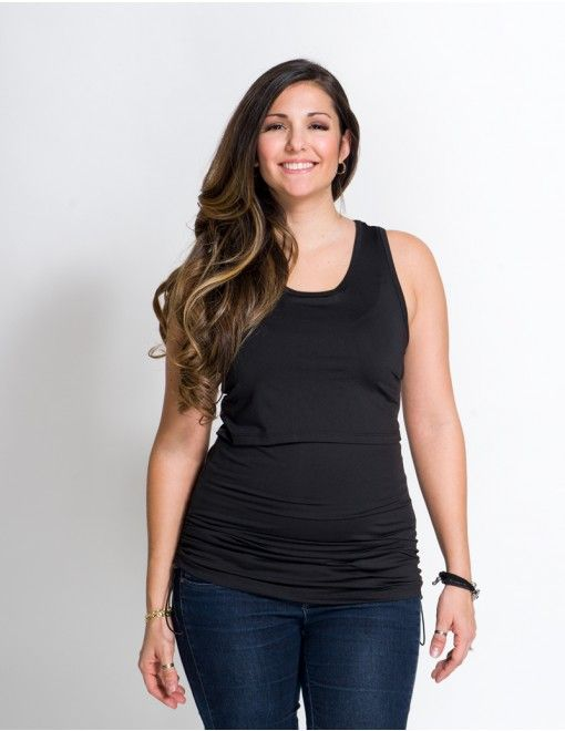 Momzelle Chloe nursing yoga top