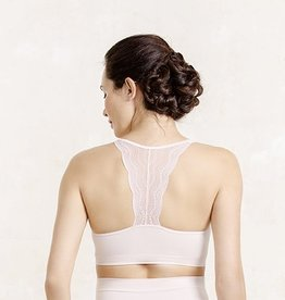 Serenity lace bralet in Petal B cup to F cup