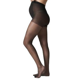 Sheer maternity pantyhose Black