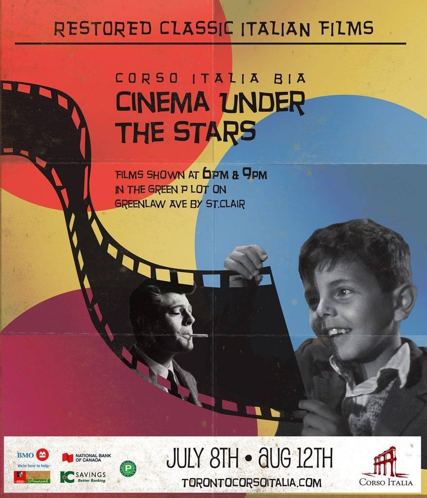 Sidewalk Sale & Film under the Stars