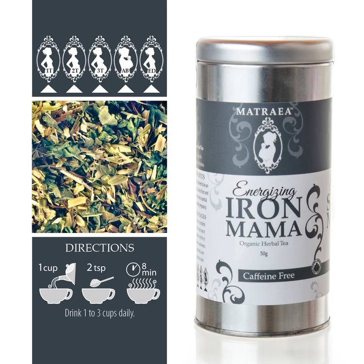 Matraea Energizing Iron Mama Tea