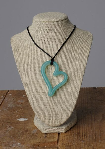 Teethease Heart Pendant Nursing Necklace