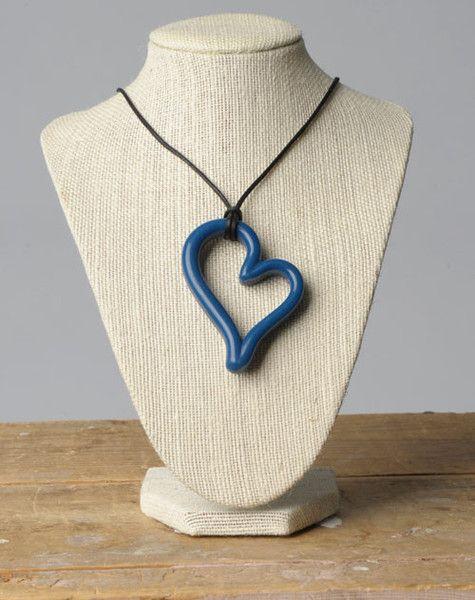 Teethease Heart Pendant Nursing Necklace