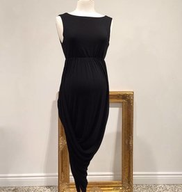 Hi-Lo dress in Black