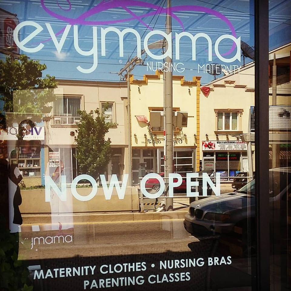 Evymama Toronto's new store! Evymama has moved!