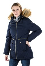 Sara 3-in-1 Down Filled Parka - Navy