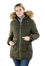 Sara 3-in-1 Down Filled Parka - Army Green