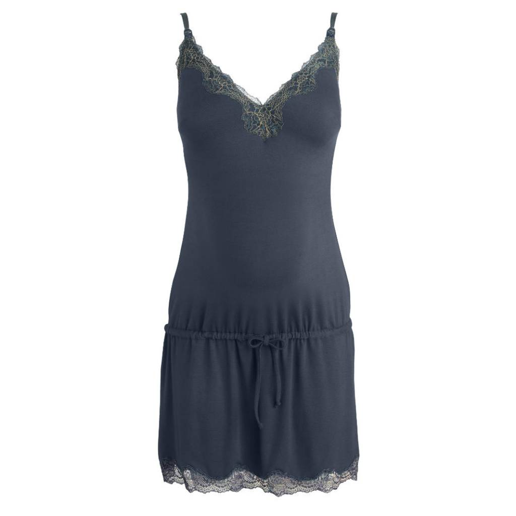 Cache Coeur Khali nightdress in midnight