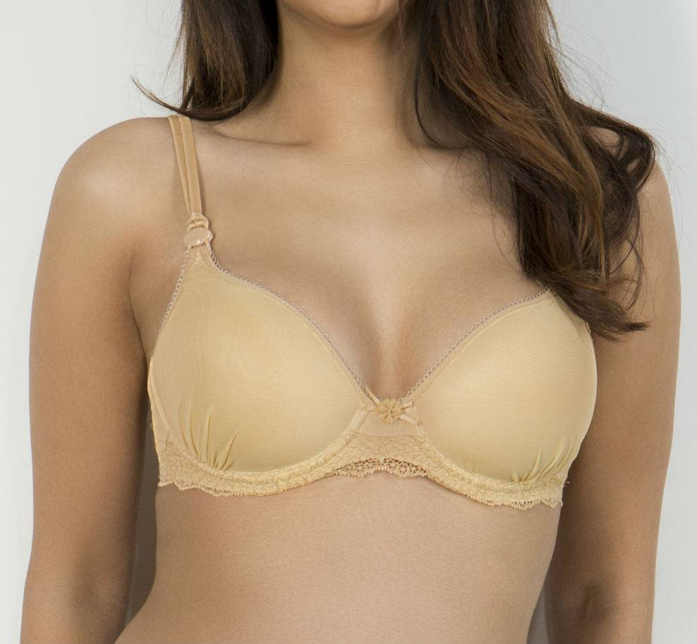 Cache Coeur Khali nursing bra in Honey