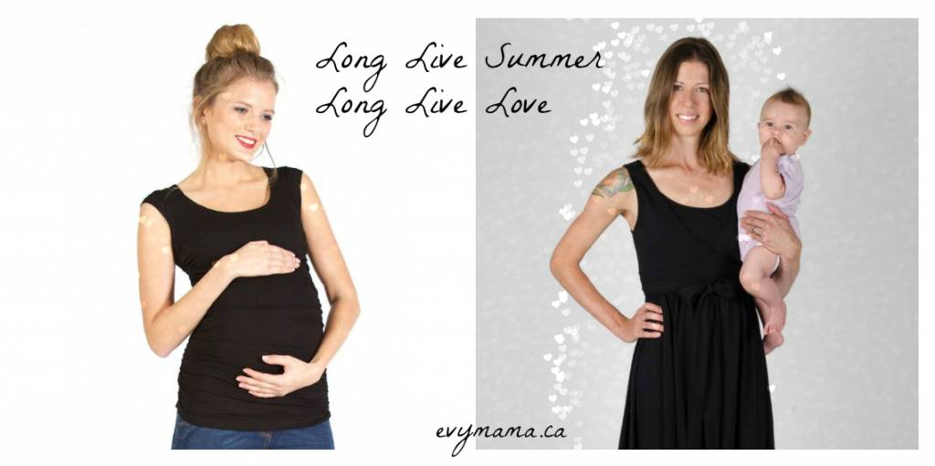 Evymama Summer maternity wear & nursingwear is on sale!