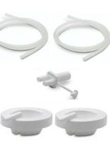 Maymom Ameda compatible tubing, caps & connector
