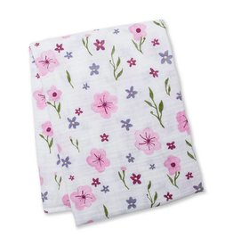 Muslin blanket - Lovely Floral