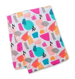 Muslin blanket - Paper Cut